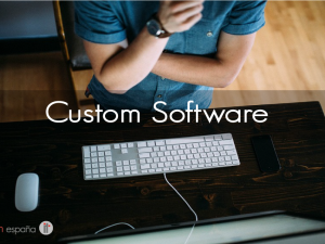 Improve your productivity with a custom software.
